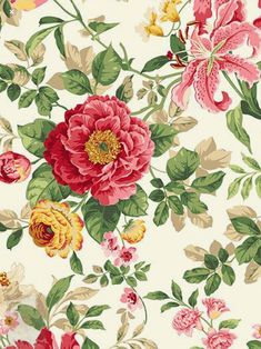 Flower Images, Flower Pictures, Pattern Flower, Flower Patterns, Salim Ali, Textile Design, Fabric Design, Origami Gifts, Alexander Henry