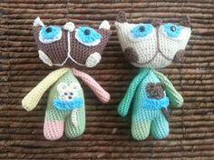 Mačičky pattern by Vendulka Maderská