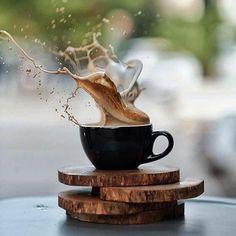 coffee pictures 4 Tips for Managing a Coffee Shop - coffee I Love Coffee, Coffee Break, My Coffee, Morning Coffee, Coffee Creamer, Coffee Mugs, Cuban Coffee, Ninja Coffee, Coffee Corner