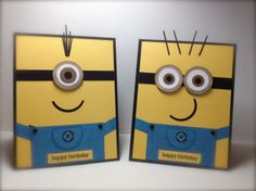Minions... Great party invitations