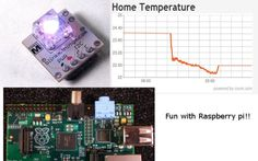 Sensors And LED's Loved By ‪#‎RaspberryPi‬