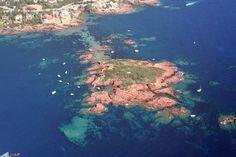 Photo aérienne de Ile des vieilles - Alpes-Maritimes (06)
