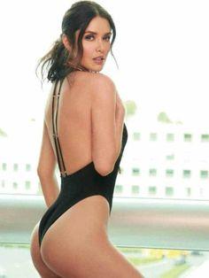 Marlene Favela se atrevió a posar muy sensual para la revista Open.(Revista Open)