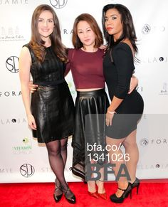 Devin VanderMaas, April Mun, Jessica Pimentel at Fashion night out with STELLA & JAMIE & JESSICA PIMENTEL from Orange is the New Black. #BFAnyc #Foravi #StellaAndJamie #JessicaPimentel #AprilMun #DevinVanderMaas