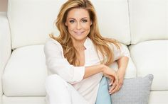 Download wallpapers Malgorzata Rozenek, 4k, portrait, Polish TV presenter, beautiful woman