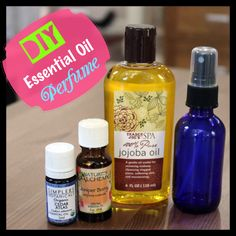 Simple DIY essential oil perfume (recipes for male and female scents) via @Vegan Beauty Review