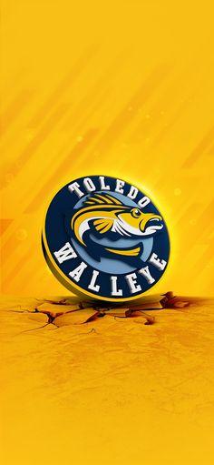 Toledo Walleye logo wallpaper #WalleyeWallpaperWednesday Toledo Walleye, Hockey Logos, Porsche Logo, Wallpaper, Pictures, Movie Posters, Photos, Wallpapers, Film Poster