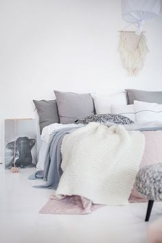 scandinavian interior inspiration | bedroom styling | Home  | Scandinavian Interiors, Interiors and Bedrooms