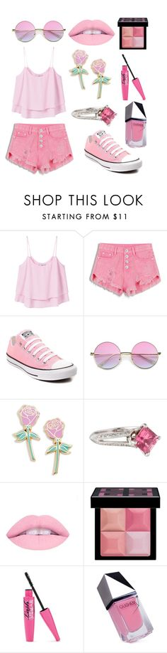 """""""Untitled #39"""" by cartman-hannah ❤ liked on Polyvore featuring MANGO, Converse, Big Bud Press, Givenchy, GUiSHEM, summercamp and 60secondstyle"""