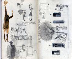 10 вдохновляющих скетчбуков. Рисовальщики, за которыми стоит следить. - Дневник человека, который рисует каракули