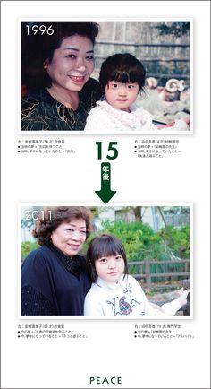 PEACE:1996年 → 2011年