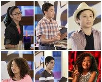 The first La Voz Kids finalists. Winner will be announced tonight, for more detail click on the photo.