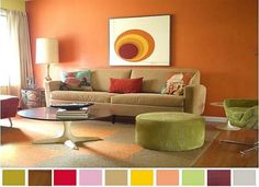 decorating with color living rooms - Google Search