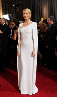 Gwyneth Paltrow in Tom Ford, 2012Gwyneth Paltrow in Tom Ford at the 2012 Academy Awards: immaculate and uncluttered, and straight from Marge Sherwood's steamer trunk.—Jane Chun, Vogue.com Copy Chief