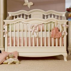 Cleopatra Convertible Crib - Baby Furniture Plus Kids