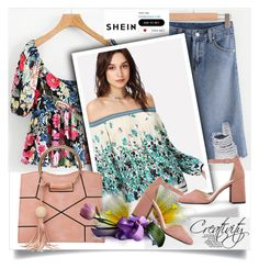 """""""SHEIN XIV/8"""" by creativity30 ❤ liked on Polyvore featuring shein"""
