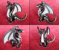 Silver Dragon by DragonsAndBeasties.deviantart.com on @deviantART