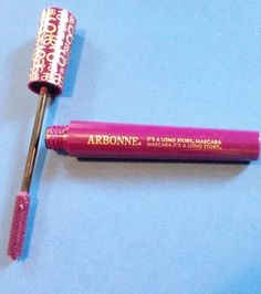 #BStat #Arbonne #Beauty  Review, B/A Comparison Photos: Arbonne Holiday 2014 Makeup Kit - Victoria Lake Palette, It's A Long Story Royal Purple Mascara, Sheer Glow Highlighter Bronze