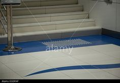 Dubai Metro Station at Nakheel Harour and Towers, Zone 2, Blue Line, Dubai UAE Stock Photo