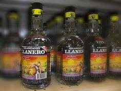 Aguardiente Llanero - Colombian drink