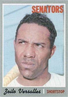 "zoilo versalles baseball cards | Zoilo Versalles - ""Uh... You mad, bro?"""