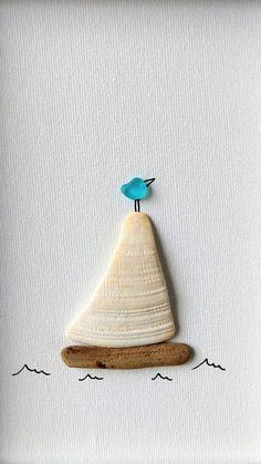 Home Decoration Ideas Photo GlassArtBeauty PaintedGlassArtGold Refferal: 7966618213 Decoration Ideas Photo GlassArtBeauty PaintedGlassArtGold Refferal: 7966618213 Sea Glass Crafts, Sea Crafts, Sea Glass Art, Rock Crafts, Stained Glass Art, Sea Glass Beach, Fused Glass, Seashell Art, Seashell Crafts