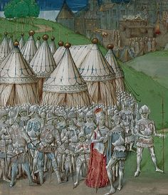 manuscript illustration of Isabella of France with Roger Mortimer. The original manuscript is now in the collections of the British Library. Date between 1471 and 1483 Source British Library. Medieval Manuscript, Medieval Art, Medieval Times, Illuminated Manuscript, Larp, Nottingham Castle, Renaissance, Eslava, Queen Isabella