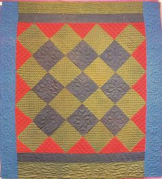 Pieced Quilt, 1890. Made by Mrs. Peachey. Amish. Allenville, Pennsylvania.