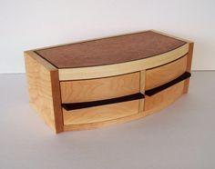 wood jewelry box by TKfindz
