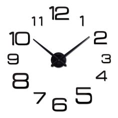 3d Acrylic Mirror Clock