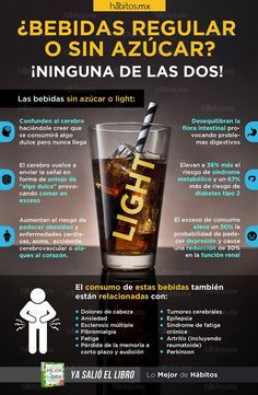 Hábitos Health Coaching | ¿Bebidas regular o sin azúcar?… ¡NINGUNA DE LAS DOS!
