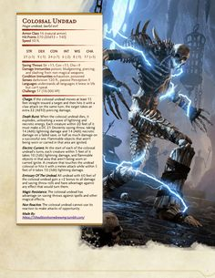 dungeons and dragons Homebrewing Dungeons amp; Dungeons And Dragons Classes, Dungeons And Dragons Characters, Dungeons And Dragons Homebrew, Dnd Characters, Cool Monsters, Dnd Monsters, Fantasy Monster, Monster Art, Monster High