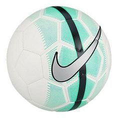 Nike Mercurial Veer Size 5 Soccer Ball - White/Green Glow