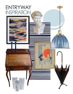 The Makerista: The Process of Designing a Room: Our Entryway