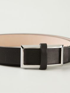 Givenchy Square Buckle Belt - Luisa World - Farfetch.com