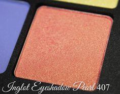 Inglot Eyeshadow Pearl 407 http://www.talasia.de/2015/03/07/eyes-inglot-sprint-superstar-eyeshadow-90/
