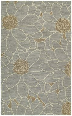 RugStudio presents Kaleen Carriage City Park Blue 17 Hand-Tufted, Good Quality Area Rug