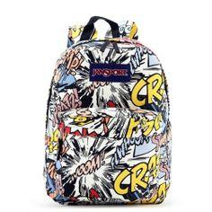 JanSport Scrawl Prints Backpack - Jansport backpack-Campaign Categories - TopBuy.com.au