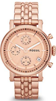 Fossil Watches, Women's The Original Boyfriend Chronograph Watch #ES3380