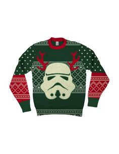 Ugly Stormtrooper Star Wars Christmas sweater