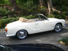 Kharmann Ghia ... I want one so bad! Baby blue would be best!