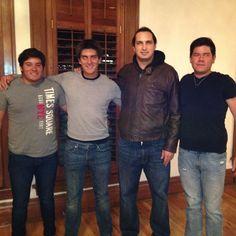 No. 6 Pepe Tono No. 15 Adrian Fdz No.10 Antonio Ruiz No.20 David Caballero