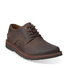 Remsen Limit Dark Brown Leather - Clarks Mens Shoes - Lace-ups and Slip-ons - Clarks - Clarks® Shoes