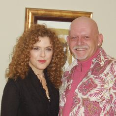 Bernadette Peters, January 3, 2010, at the Van Wezel Performing Arts Hall, Sarasota, Florida