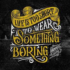 Life is too short to wear something boring. @hammerlocks by alib.isa