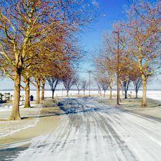 Shoreline Park - downtown Sandusky, Ohio.