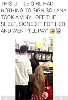 Lana Del Rey at the Rough Trade Honeymoon signing [This is one of the main reasons why i love her so much!] You are in the right place about Honeymoon resorts Here we offer you the most beautiful Couple Instagram Captions, Born To Die, Brooklyn Baby, Funny Couples, School Humor, Funny Love, Christmas Humor, Her Music, My Idol