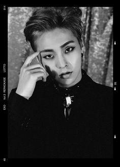 Xiumin - Exo 'Lotto' comeback teaser photo