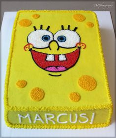 SpongeBob Cake my lil boy would luv this
