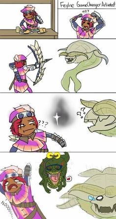 I hate the Devilinjo! He litteraly pops out when ever I look for a great Jaggi to fight Monster Hunter Memes, Monster Hunter 3rd, You Monster, Anime Couples Manga, Cute Anime Couples, Anime Girls, Tales Series, Fan Art, Monster Hunter